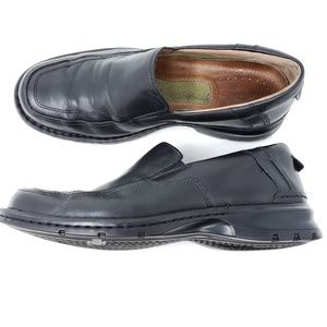 Clarks Slip On Loafers Leather Casual Dress Shoes